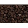 Wood Flat Oval 8X12mm Polished Dark Brown